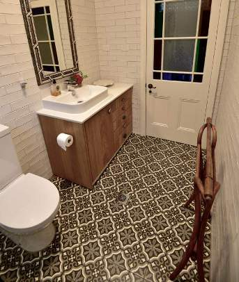 Sydney cement tiles encaustic artisan retro tiles bathroom for Kitchen showrooms sydney west